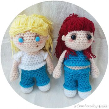 B'Allie forever!  by CrochetedbyBekk