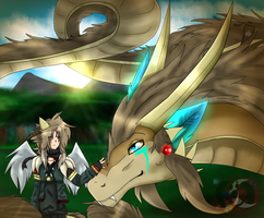 Drago and Dragon Azteka by gisselle50