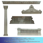 Grecian Architecture PreCut by CelticStrm-Stock by CelticStrm-Stock