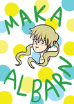 Maka Albarn Doodle by LuckySoulStarEater