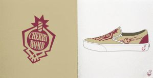 Cherry Bomb Shoe design 1 by Cherrybombhits