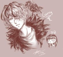 Garry and kawaii Ib~ from Ib the Game by RossiniCrezyel