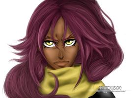 Yoruichi by TheDus100