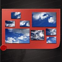 10x HQ Cloud images by M10tje