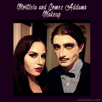 Addams Make-up by diamondmarine