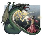 Wizard vs Dragon from Dark City Games by Kminor