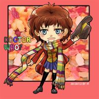 [Doctor Who] girl 4th Doctor by skylord1015