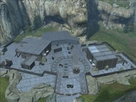 Halo Reach Map: Nuketown 1 by KindiChan