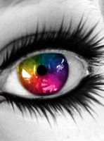 I see Color in a World of Grey by Klaymortia