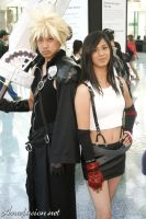 FF7 Cloud and Tifa by anafusion