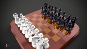 Chess Set by fusobotic