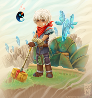 :Bastion: The Kid by MMtheMayo