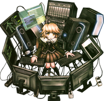 Dangan Ronpa Png by bloomsama