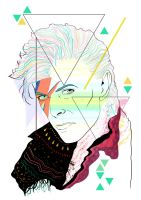 Bowie is so 80s by ADriana-XST