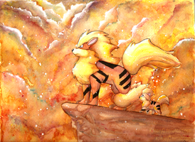 Arcanine by KrisseyMage