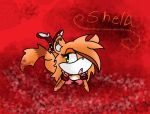 Bed Of Roses *Shela* by snowtheacat