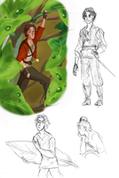 Arrietty AU by kemiobsesses