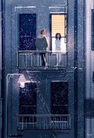 On the balcony by PascalCampion