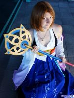 FFX- Summoner Yuna by Rose-Curel