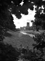 Fountains Abbey 2 by ks-photo