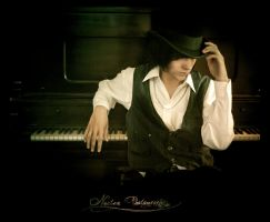 Piano Man by NoctemPhotography