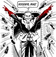 The Pathetic End to Bush Era 2 by Latuff2