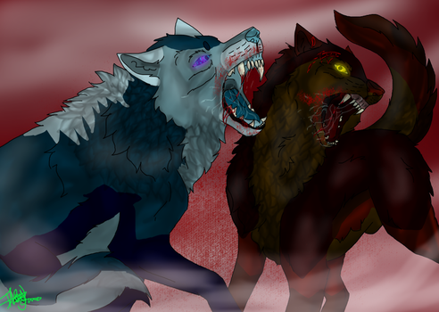 Kampf Wolves by Wolfsalterego