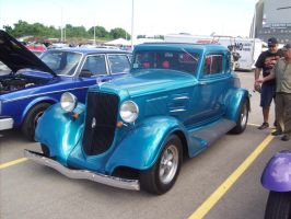 1934 Plymouth Hot Rod by Mister-Lou