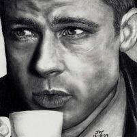 Brad Pitt - Oceans Twelve by Doctor-Pencil