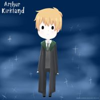 Slytherin Arthur by xbubblegumprincess