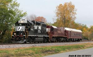 NS 5622 leads Geometry Research Train 907 by EternalFlame1891