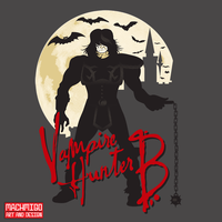 Vampire Hunter B by machmigo