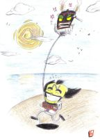 Cortex and Uka go Kiting by tropy-29