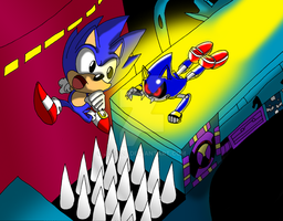 Sonic CD contest entry of FAIL by jrc1120