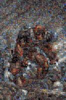 Deadpool Mosaic by timmywheeler