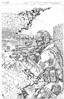 GHOST from COD:MW 2 by danielpicciotto