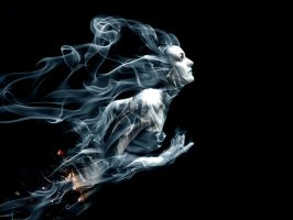 Smoke Lady by desperadofromhell
