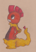 """k"" my Scraggy by VampireSelene13"