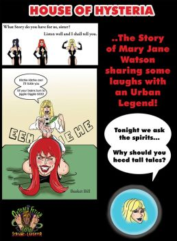 House of Hysteria Story 2: Mary Jane's Legend by whotwolf