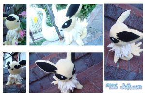 Commission: Jolteon by CelestialCrafts