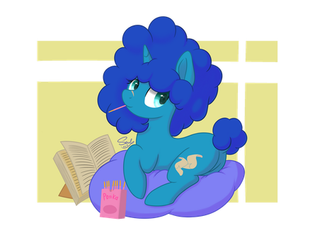 Blue Cotton by SoulfulMirror