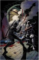 snake eyes storm shadow colors by davidnewbold