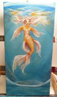 Gold Fish 004.2 by InkRose101