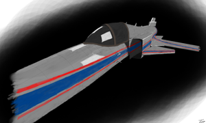 X-29A Concept Paint by Intel-Qube