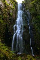 Burgbach Waterfall 1 by MK-NI