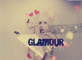 Glamour Lady GaGa by dirtyheaven