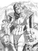Red Sonja by RamArtwork