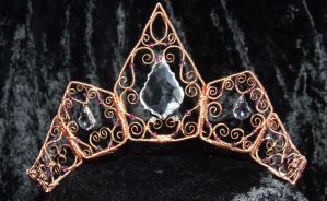 Artemis Coronet front view by cherrydelight