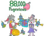 88.000 Pageviews by MarioSonicMoon