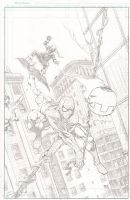 Spider-Man and Green Goblin by ClarkWGriswold
